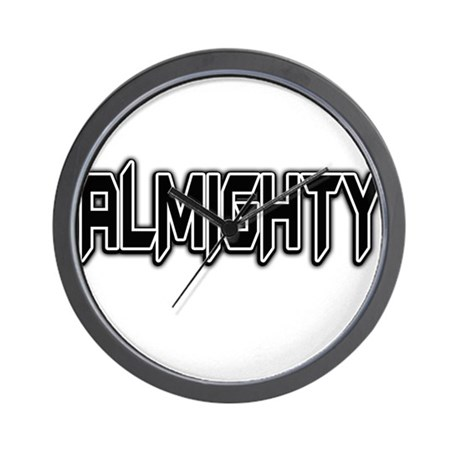 ALMIGHTY Wall Clock