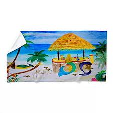 Mermaid Beach Tiki Bar Beach Towel