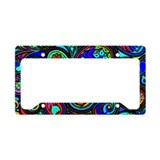 Paisley License Plate Frames