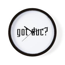 Got Duc? Wall Clock