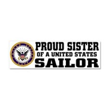Unique Navy Car Magnet 10 x 3