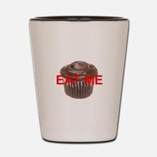 EAT ME cupcake Shot Glass