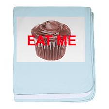 EAT ME cupcake baby blanket
