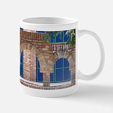Brick with Blue Tile Mugs