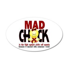 Sickle Cell Anemia MadChick1 Wall Decal