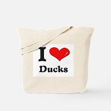 I love ducks Tote Bag
