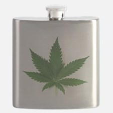 Marijuana Leaf Flask