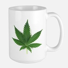 Marijuana Leaf Mugs