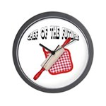 Baking Chef Of The Future Wall Clock