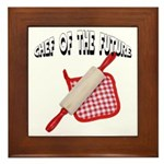 Baking Chef Of The Future Framed Tile