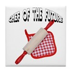 Baking Chef Of The Future Tile Coaster