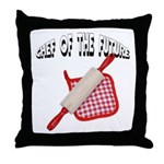 Baking Chef Of The Future Throw Pillow
