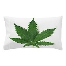 Marijuana Leaf Pillow Case
