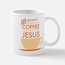 Coffee & Jesus Mug Mugs