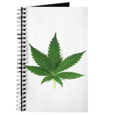 Marijuana Leaf Journal
