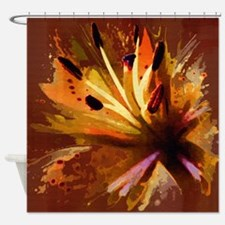 Cute Warm colors Shower Curtain
