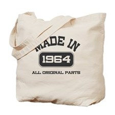Made in 1964 Tote Bag