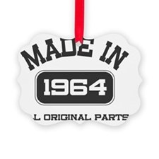 Made in 1964 Picture Ornament