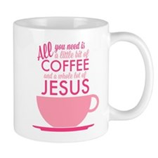 Coffee & Jesus Mug Mugs