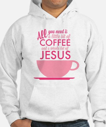 Coffee & Jesus Jumper Hoody