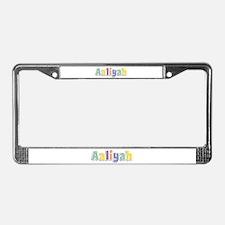 Aaliyah Spring14 License Plate Frame