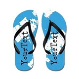 Personalized graduation Flip Flops