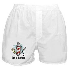 Cute Barber Boxer Shorts