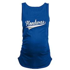 Honduras, Retro, Maternity Tank Top