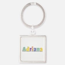 Adriana Spring14 Square Keychain