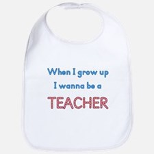 Future Teacher Bib