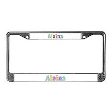 Alaina Spring14 License Plate Frame