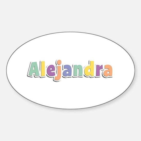 Alejandra Spring14 Oval Decal