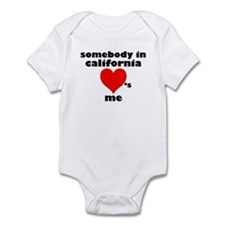 Somebody in California Infant Bodysuit