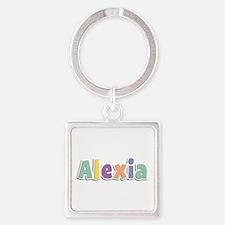 Alexia Spring14 Square Keychain