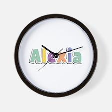 Alexia Spring14 Wall Clock