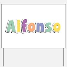 Alfonso Spring14 Yard Sign