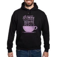 Coffee & Jesus Hoodie