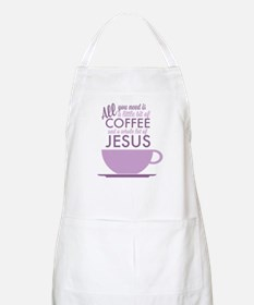 Coffee & Jesus Apron