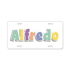 Alfredo Spring14 Aluminum License Plate