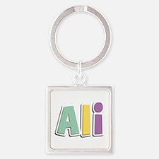 Ali Spring14 Square Keychain