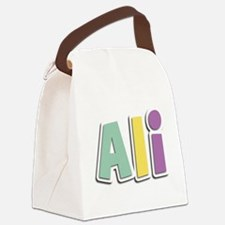 Ali Spring14 Canvas Lunch Bag