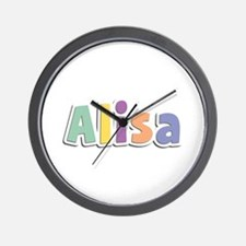 Alisa Spring14 Wall Clock