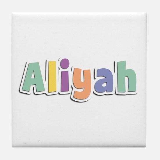 Aliyah Spring14 Tile Coaster
