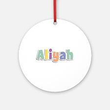 Aliyah Spring14 Round Ornament