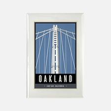 Oakland Rectangle Magnet