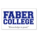 FABER COLLEGE - Sticker
