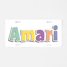 Amari Spring14 Aluminum License Plate