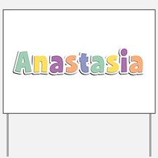 Anastasia Spring14 Yard Sign