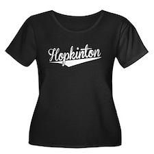 Hopkinton, Retro, Plus Size T-Shirt