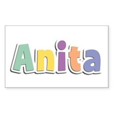 Anita Spring14 Rectangle Decal